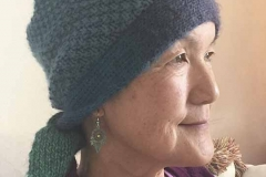 Lily-in-knit-chemo-cap